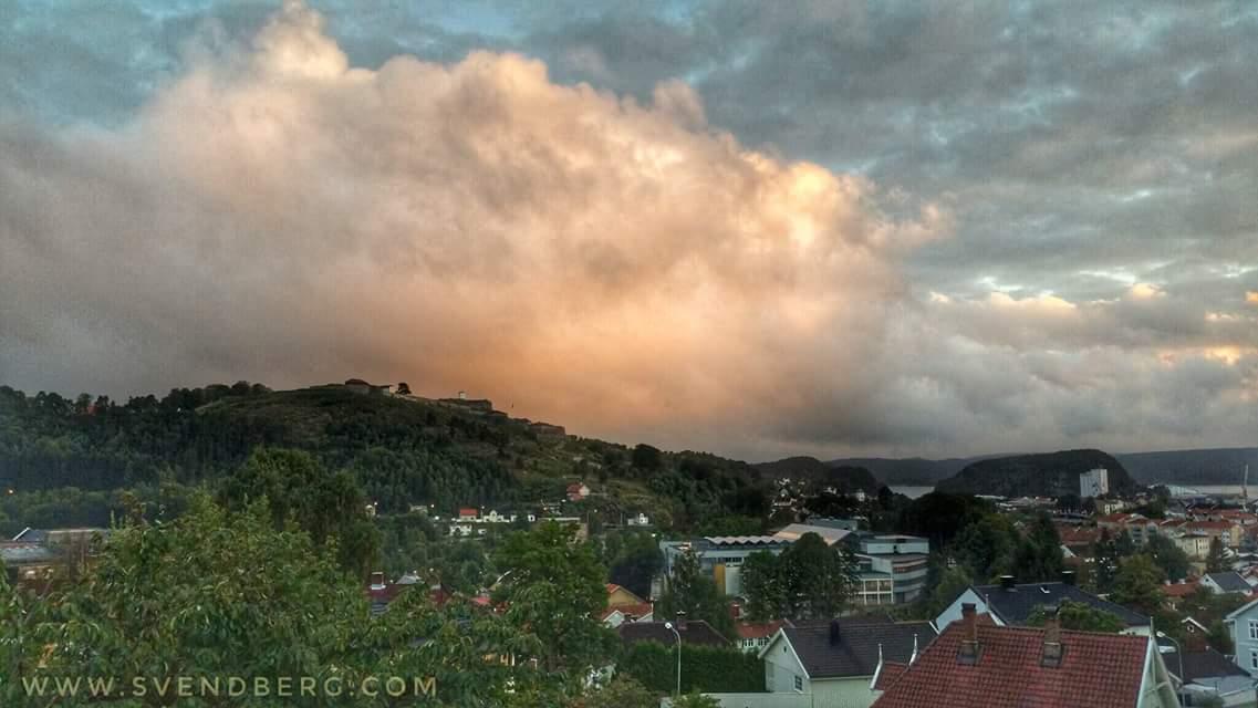 This is my tweet… From my hometown Halden. #Halden #Norway #fredriks…